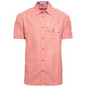 t Alps - Chemise manches courtes homme - rouge